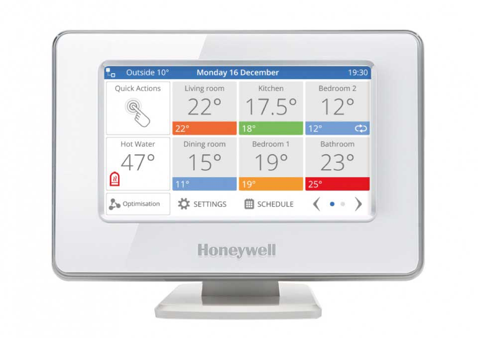 honeywell evohome thermostat