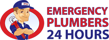 Emergency plumber 24 hours mobile logo