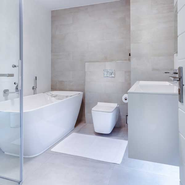 Modern bathroom - bathroom fitting